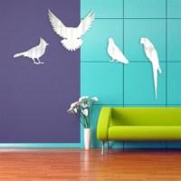 BuldumBuldum Kuş Aynalar - Güvercin 2 - 24X30 Cm
