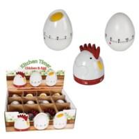 BuldumBuldum Egg And Chicken Timer - Yumurta Ve Tavuk Mutfak Zamanlayıcı - Kırık Yumurta