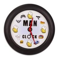 BuldumBuldum Erkek Duvar Saati – Man Clock