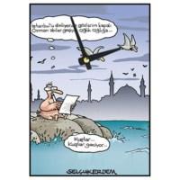 BuldumBuldum Selçuk Erdem 'İstanbul'U Dinliyorum' Duvar Saati 21X15 Cm