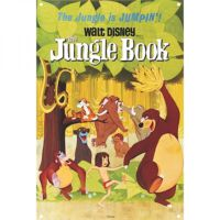 Half Moon Bay Jungle Book Duvar Levhası