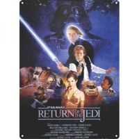 Half Moon Bay Star Wars Return Of The Jedi Duvar Levhası