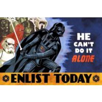 Urbangift Starwars Enlist Today Magnet 6x9 cm