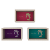 Rafevi Monroe Duvar Rafı Trilogy