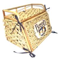 Cosiness Hasır Ekmek Sepeti (Açık Kahve)