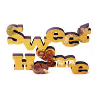 Ahşap Tasarım Dekoratif Sweet Home