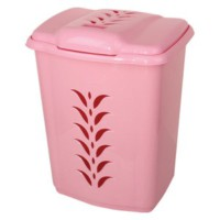 Elif Plastik Plastik Kirli Çamaşırlık 47 Lt Pembe