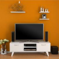 Evmanya Haus Carmen Tv ünitesi 3 raflı