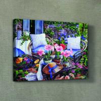 Artikel Garden Cottage Kanvas Tablo