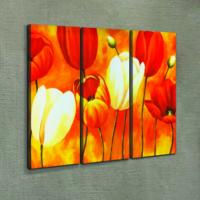 Artikel Color of Love 3 Parça Kanvas Tablo 70X90 Cm