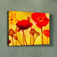 Artikel Blooming Tulips Kanvas Tablo