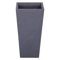 Konik Saksı Granit Renk M 24x46 Cm