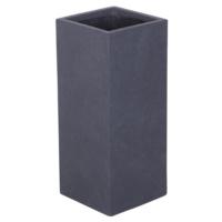 Uzun Saksı Granit Renk S 28x60 Cm