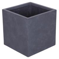 Kare Saksı Granit Renk L 40x40 Cm