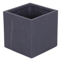 Kare Saksı Granit Renk M 30x30 Cm