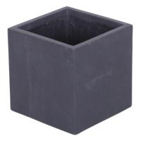 Kare Saksı Granit Renk S 25x25 Cm