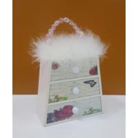 Oyks Mini Takı Kutusu 3 Çekmeceli Taşlı