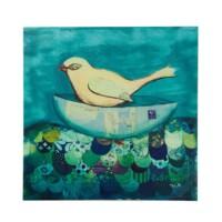 Teknedeki Kuş Canvas Tablo