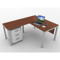 Kenyap 821005 Rena Ofis Takımı-140 lık Masa Tip-1