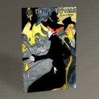 Tablo360 Henri de Toulouse- Lautrec Divan Japonais 45 x 30