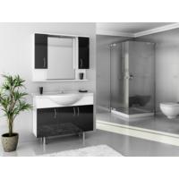 Bestline Auraline Vira 106 Banyo Dolabı - Siyah