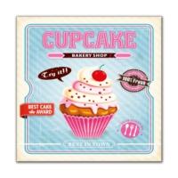 Dolce Home Cupcake -2 Dekoratif Tablo Adgt10