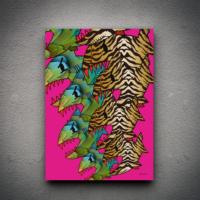 Zoodesignstudio Ayı Kanvas Tablo Tooo144 - 50X70