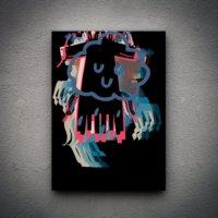 Zoodesignstudio Kanvas Tablo Hayvan Figür-1