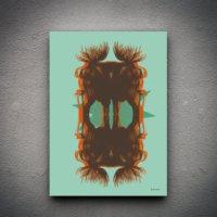 Zoodesignstudio Kanvas Tablo G00027