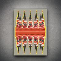 Zoodesignstudio Kanvas Tablo -23 - 70X100