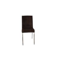 Mutfak Masası Sandalyesi Pet 2 Acı Kahve Tay Tüyü Kumaş Sandalye