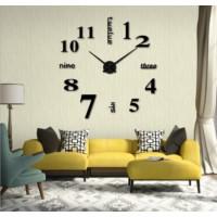 Dıy Clock Yeni Nesil 3D Duvar Saati model 2