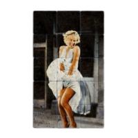Oscar Stone Baskılı Taş Tablo Marilyn Monroe