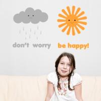 Dekorjinal Don't Worry Sticker Tsn14