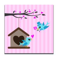 Dolce Home Love Dekoratif Tablo K20m51