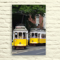 Fotocron Sarı Tramway Tablo 24X34 Cm