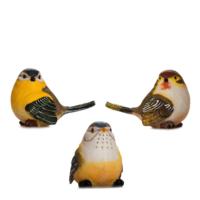 Alara Home Dekoratif 3 Lü Küçük Kuş Biblo 02