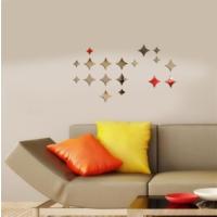 Dekoratif Kırılmaz Ayna Geometrik Şekiller - 3