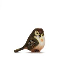Alara Home Dekoratif Kuş Biblo- Büyük Siyah Beyaz