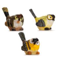Alara Home Dekoratif 3 Lü Küçük Kuş Biblo 03