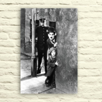 Fotocron Charlie Chaplin -2 Tablo 24X34 Cm