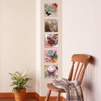 Dekorjinal Kelebek 5 Parçalı Dekoratif Tablo -Utb03