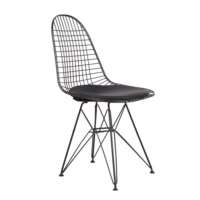 Şaziye Metal Eames Tel Sandalye - Statik Boyalı
