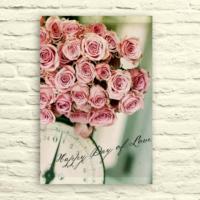 Fotocron Happy Day Of Love Tablo 24X34 Cm
