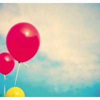 Fotocron Balon Kırmızı Tablo