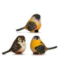 Alara Home Dekoratif 3 Lü Küçük Kuş Biblo 04
