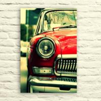 Fotocron Kırmızı Araba -2 Tablo 24X34 Cm