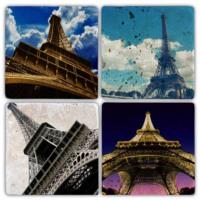 Oscar Stone Eiffel Bardak Altlığı