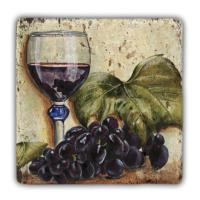 Oscar Stone Red Wines Taş Tablo