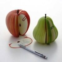 Meyve Tasarımlı Not Defteri
